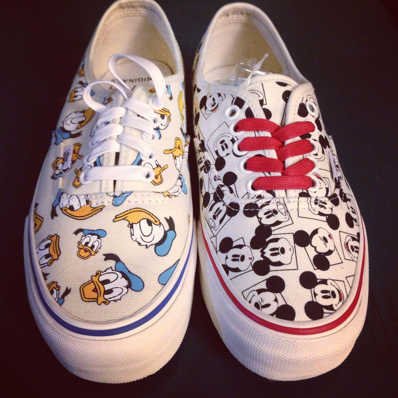 Disney Vans for the Vault line. Epic. 2013.