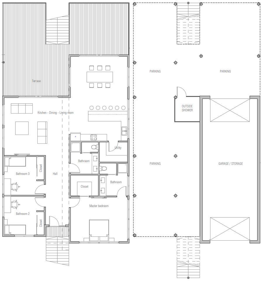 Coastal House Plans 20 House Plan 539ch 2 Jpg Stilt House Plans House Plans Carriage House Plans
