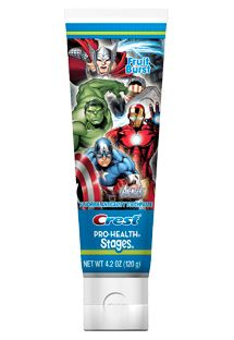 Crest Avengers Stages Toothpaste App Oral B Magic Timer