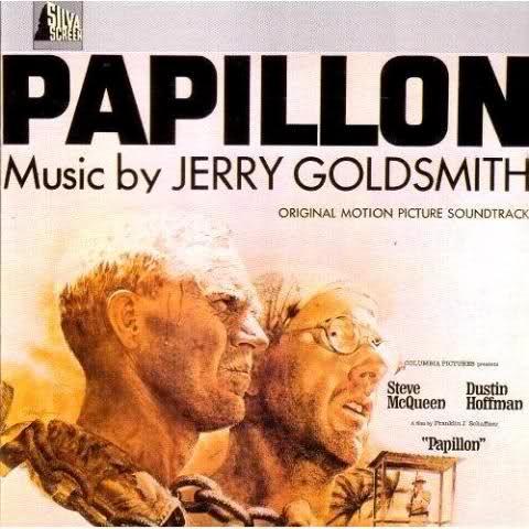 Papillon 1973 Soundtrack Cover Jerry Goldsmith Movie Soundtracks Soundtrack