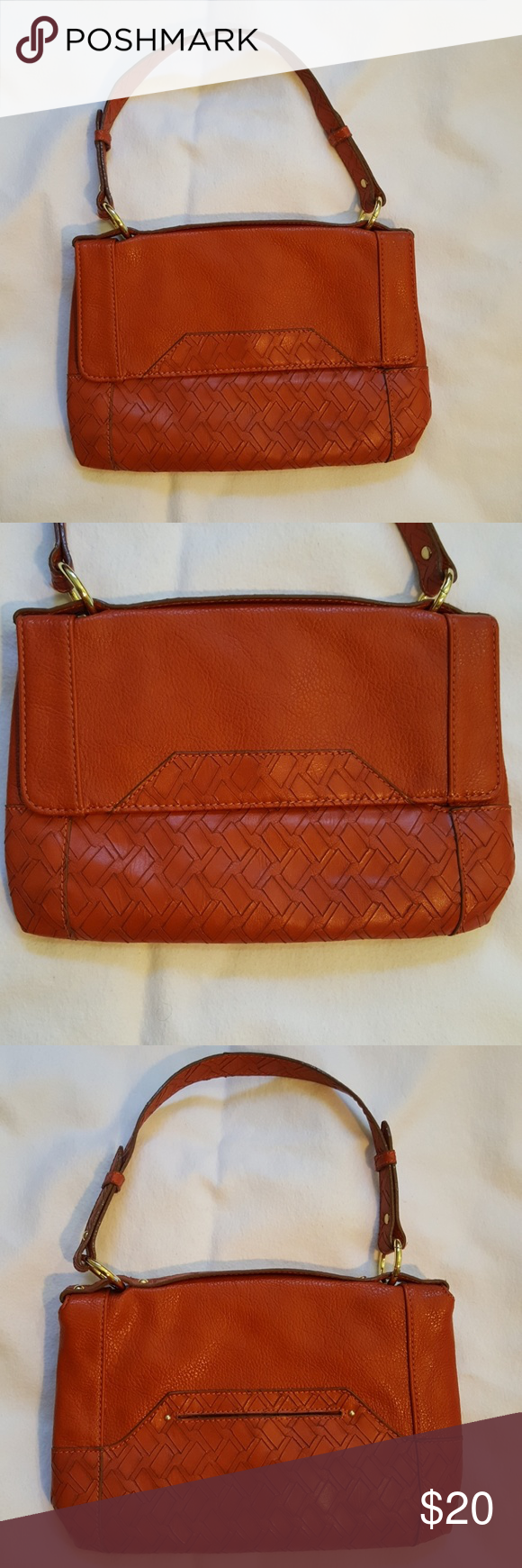 Nwt Vintage Burnt Orange Relic Crossbody Purse This Is A Nwot From Includes Detachable Strap Roximately 12 Wide 7 5 Tall