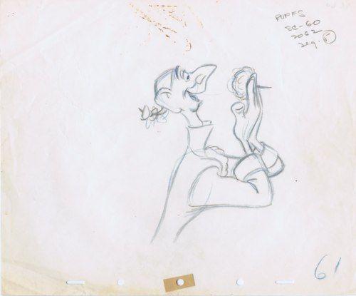 Cartoon Brew Ed Ichabod Frank Thomas Drawings Disneys 1949