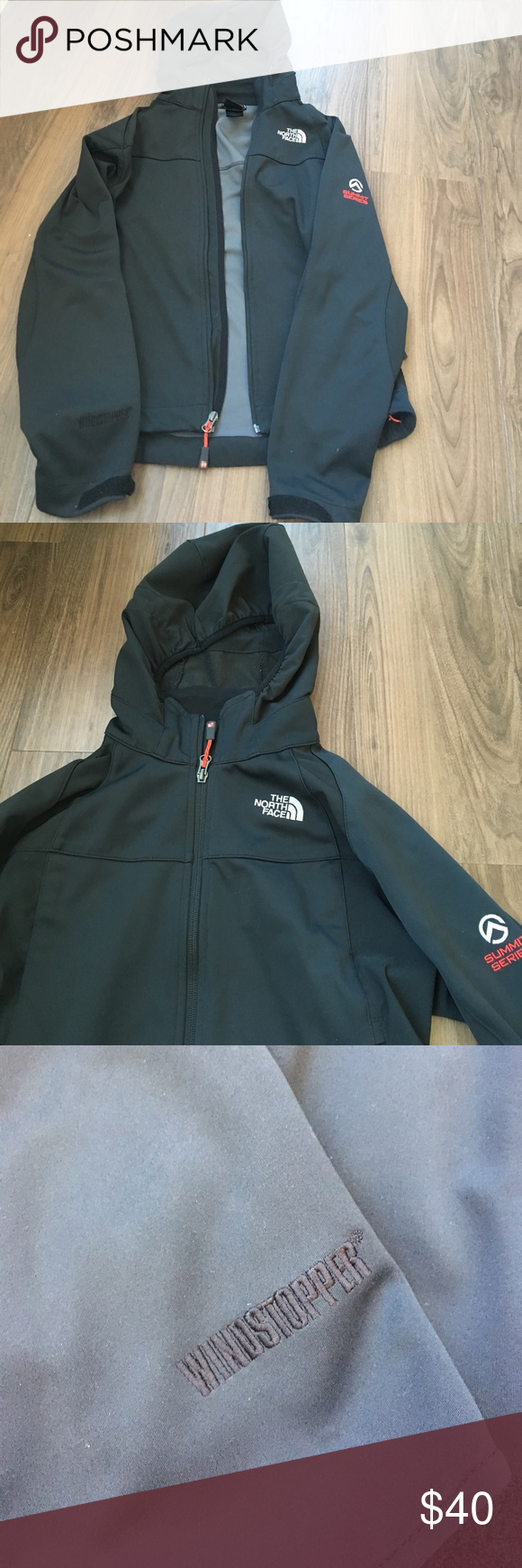 North Face Summit Series Windstopper Soft Shell Black North Face Coat North Face Coat The North Face [ 1740 x 580 Pixel ]