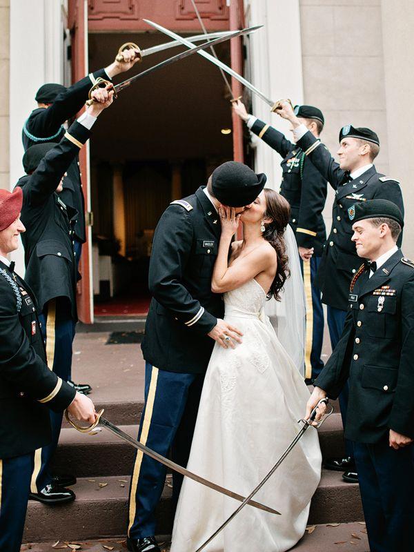 Savannah Military Wedding By Amy Arrington Southern Weddings Magazine