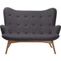 2 Zits Slaapbank Antraciet.Angels Wings 2 Zits Bank Kare Design Antraciet Sofa Design