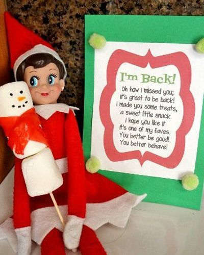 The COMPLETE INDEX of Elf on the Shelf FREE ARRIVAL LETTERS! #elfontheshelfarrival