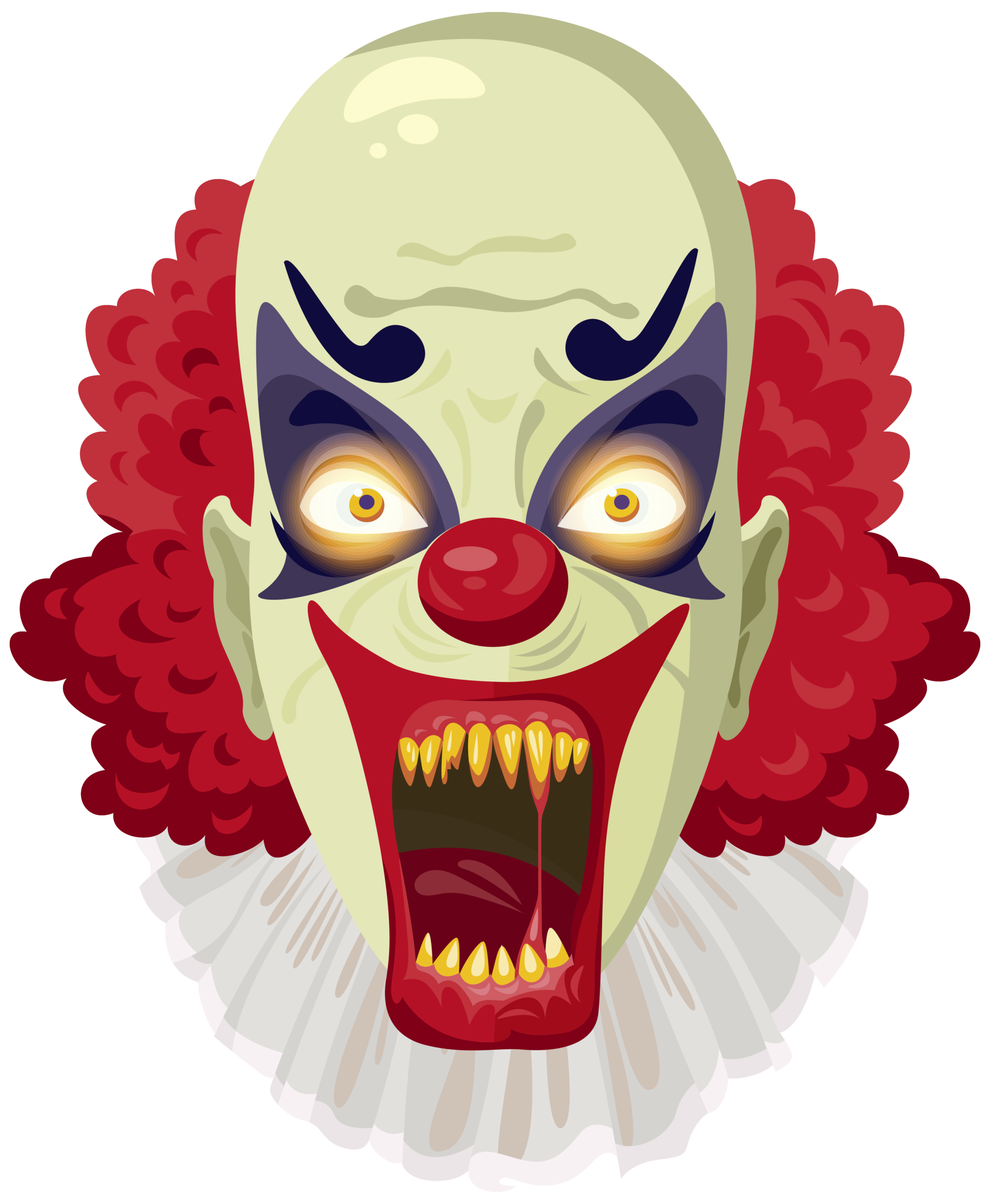 Scary Clown Png Clipart Image Gallery Yopriceville High Quality Images And Transparent Png Free Clipart Scary Clowns Halloween Clipart Creepy Clown