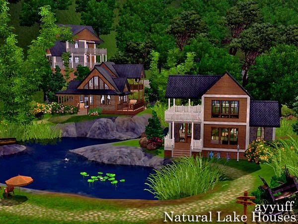 Natural Lake Houses The Sims 3 Free Download On August 1st