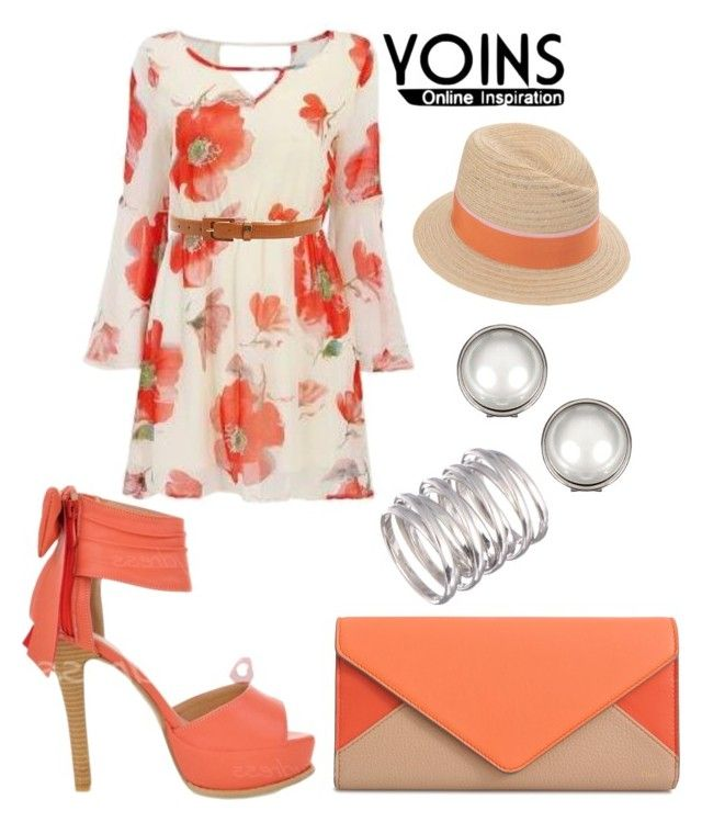"""Yoins-30/6"" by sejla-imamovic ❤ liked on Polyvore featuring Chloé, Maison Michel and MaxMara"