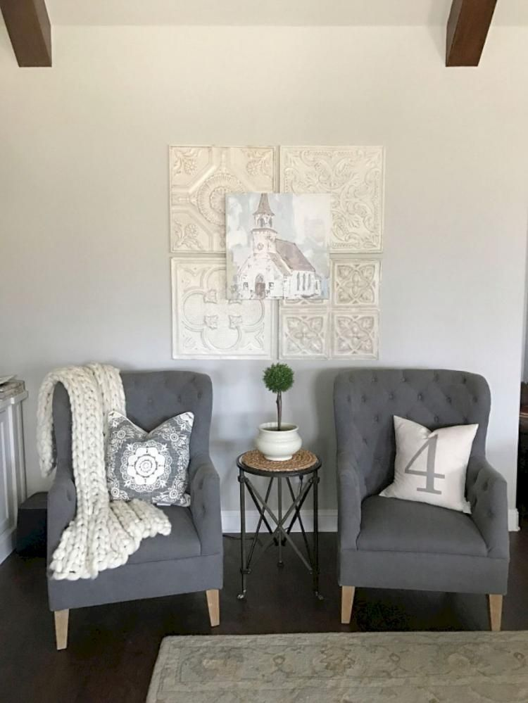 40+ Charming Farmhouse Living Room Decor Best Ideas images