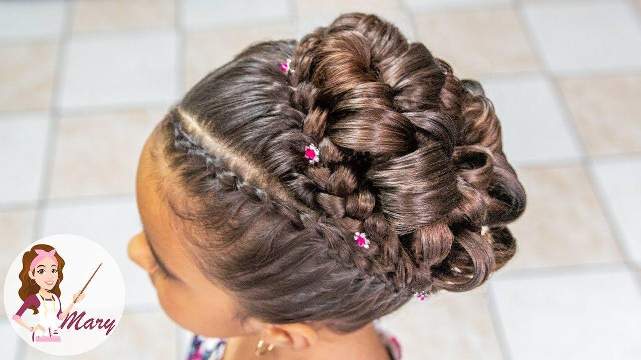 Peinado Elegante Para Primera Comunión 2018 Peinados En