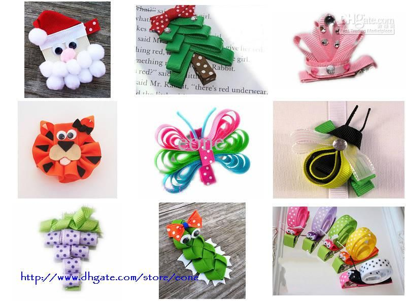 206 Best Ribbon Sculptures Images On Pinterest Ribbon Sculpture  - Christmas Tree Hair Bows