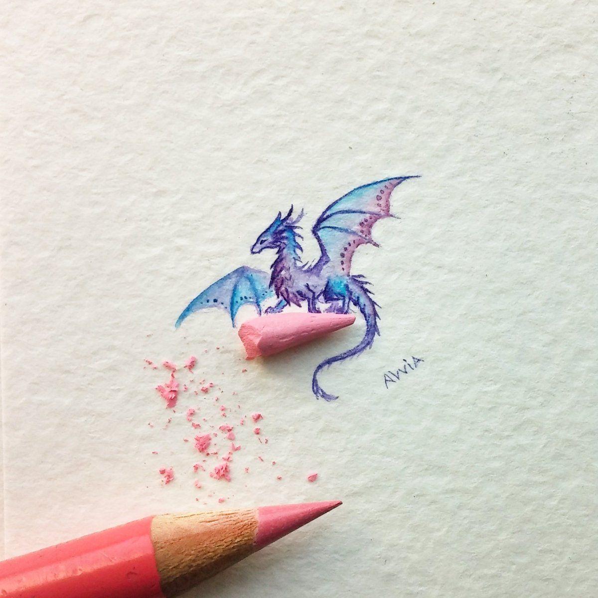 1 Twitter Small Dragon Tattoos Dragon Art Tiny Dragon
