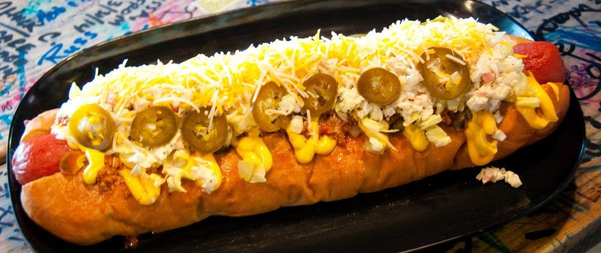 West Virginia hot dog