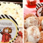 Photo of Lego Star Wars Birthday party food labels