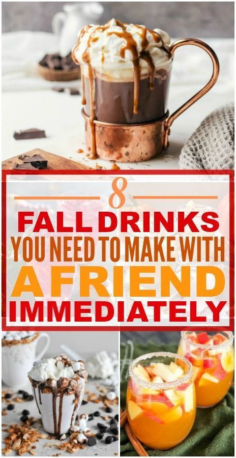8 Delicious Fall Drinks You Should Make if You Love Cold Weather