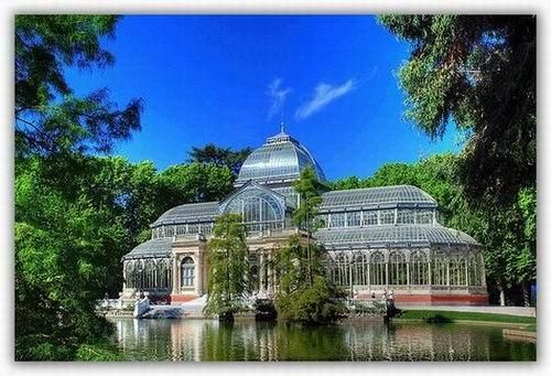Wedding Venues The Arganzuela Gl Palace In Madrid Has Been Rebuilt As A Greenhouse To Protect Wide