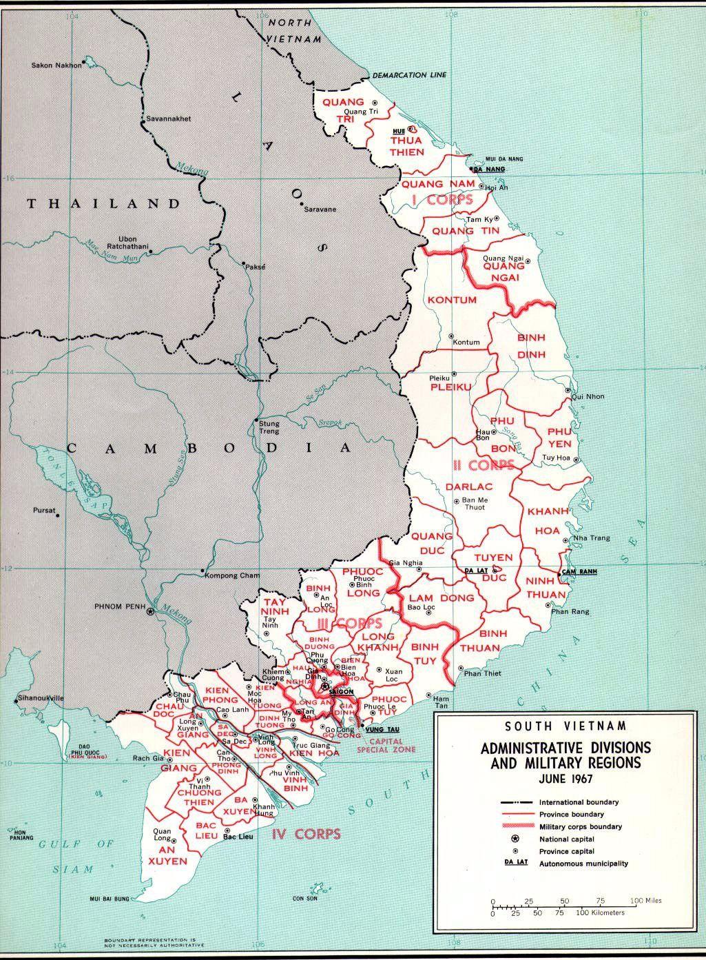 Provinces | Vietnam map, South vietnam, Vietnam war