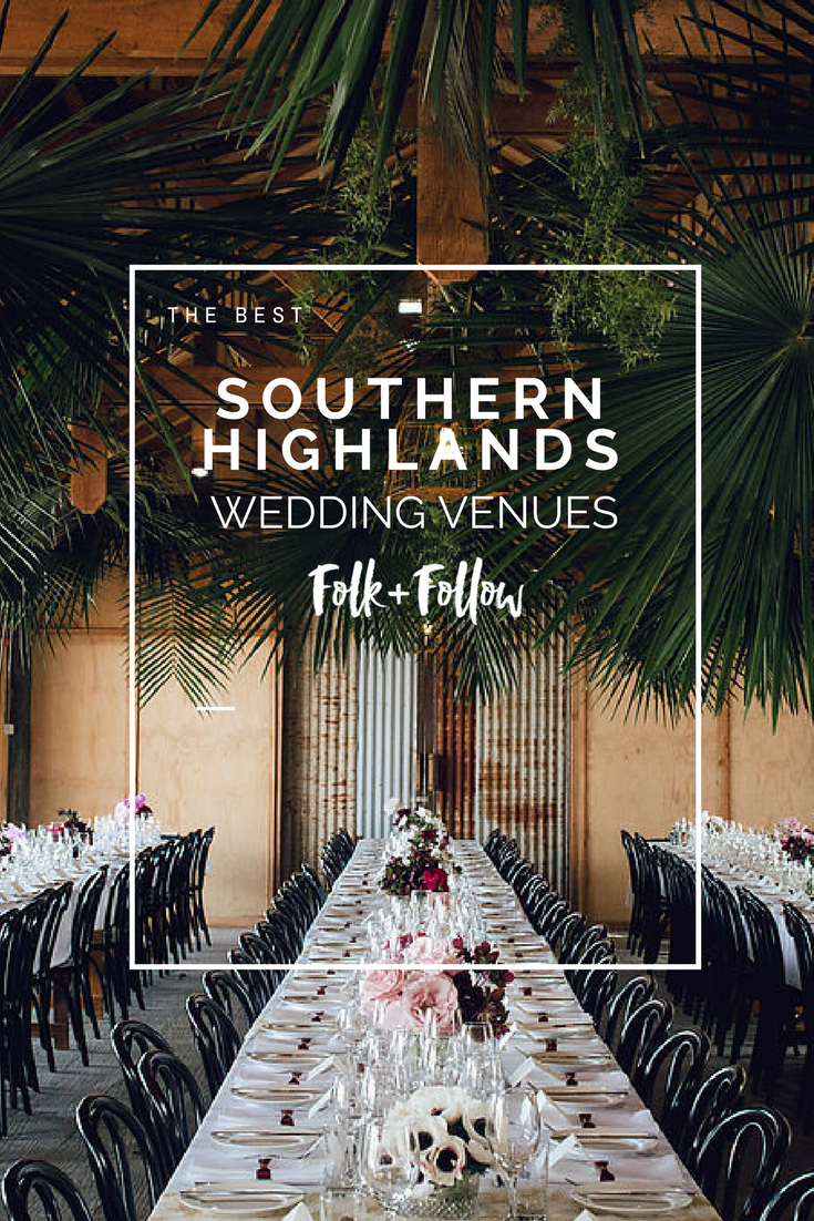 Find The Most Beautiful Wedding Venues In The Southern Highlands And