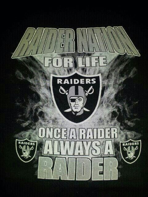 Miraculous Raider Nation For Life Oakland Raiders Funny Oakland Ibusinesslaw Wood Chair Design Ideas Ibusinesslaworg