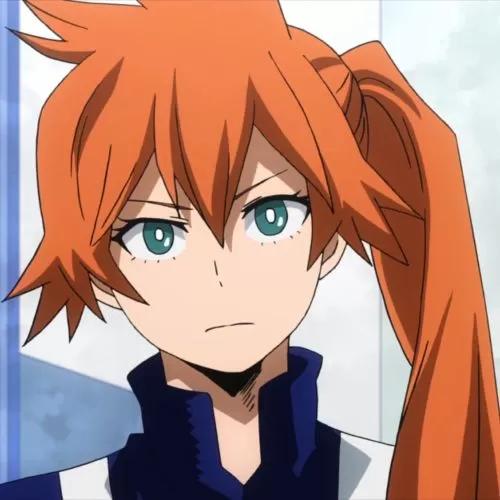 Anime Child With Orange Hair Google Search Hero Kendou Anime Child