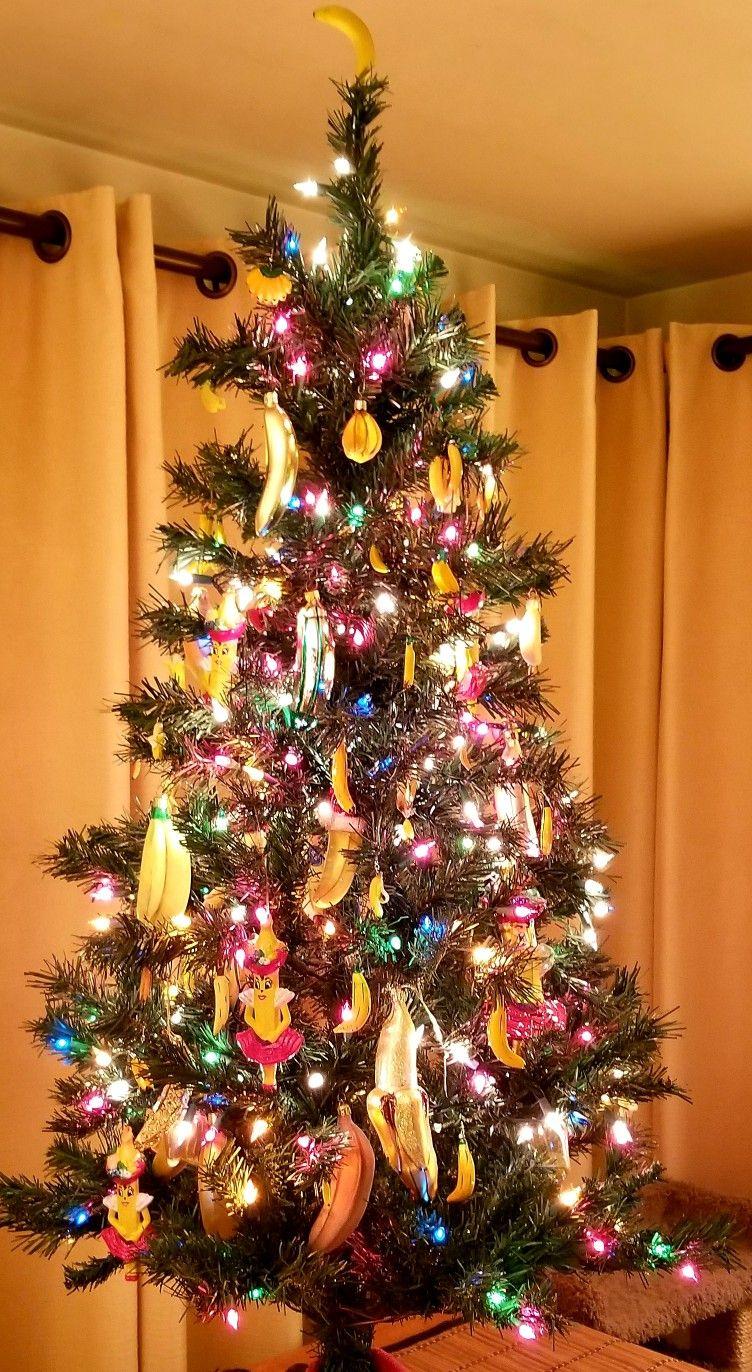 Banana Christmas Tree 2018 Christmas Tree Holiday Decor Christmas