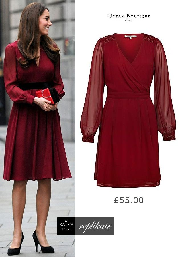 f3e514e528 Kate Middleton Style Inspiration. SHOP this repliKate of the Whistles   Sofie-Rae  dress