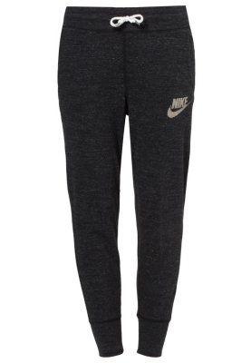 Nike Sportswear GYM VINTAGE - Spodnie treningowe - czarny - Zalando ... b28f6ad2476