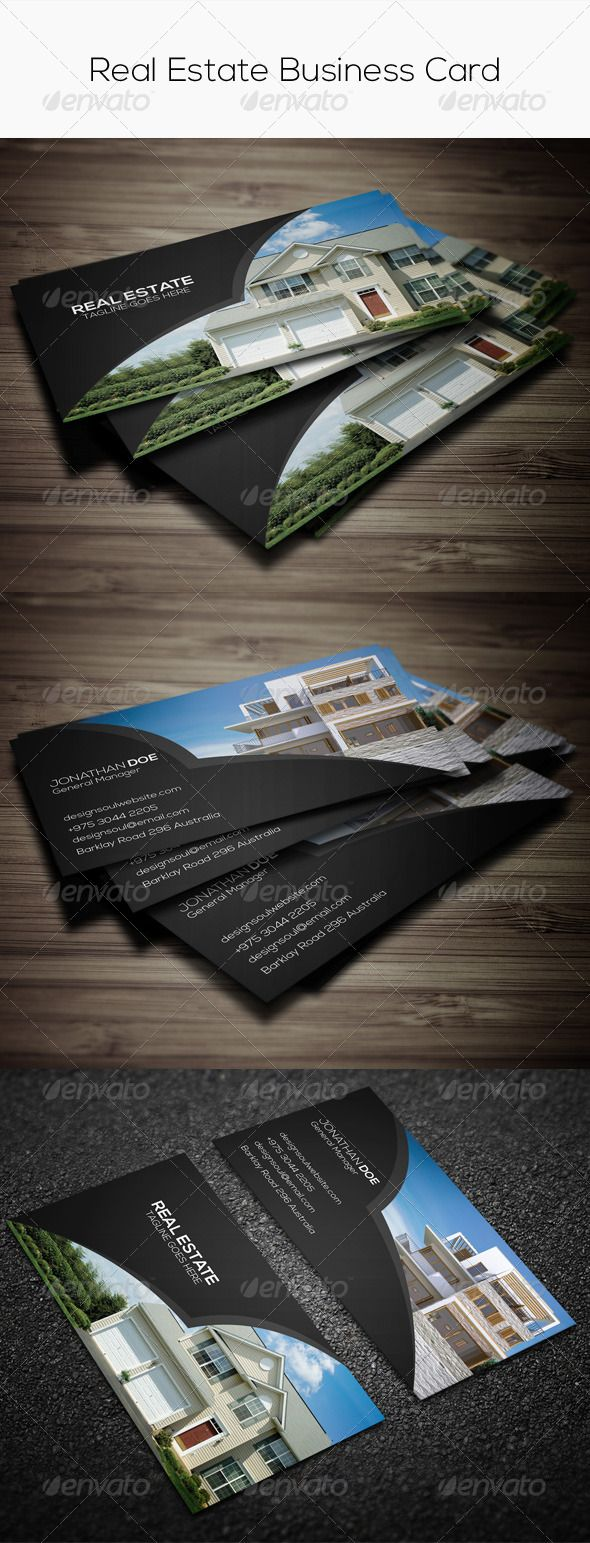 Real estate business card real estate business business cards and real estate business card template card vcard download httpgraphicriveritemreal estate business card7748892refksioks reheart Images