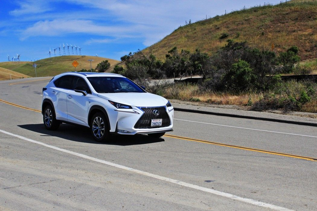 This week we trialled the new 2015 Lexus NX 200t F SPORT