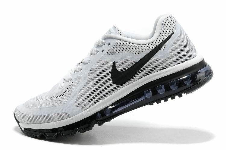 Newest 2018 Nike Air Max 2014 White Pure Platinum Black