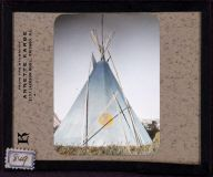 'Blue' tipi. McClintock photo