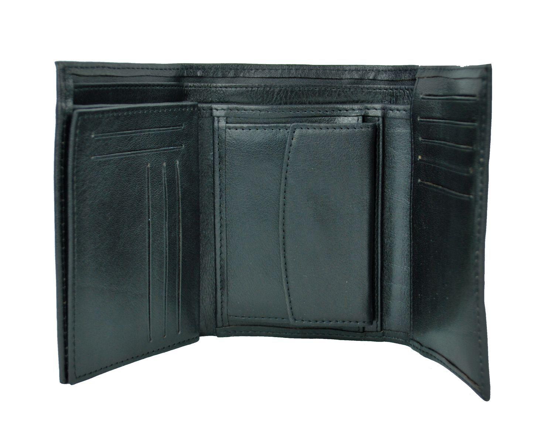 bc9b15acdb622 Elegantná peňaženka z pravej kože č.8559 v čiernej farbe. Len u nás Vám  ponúkame krásne a dizajnovo moderné dámske a pánske kožené peňaženky (1)