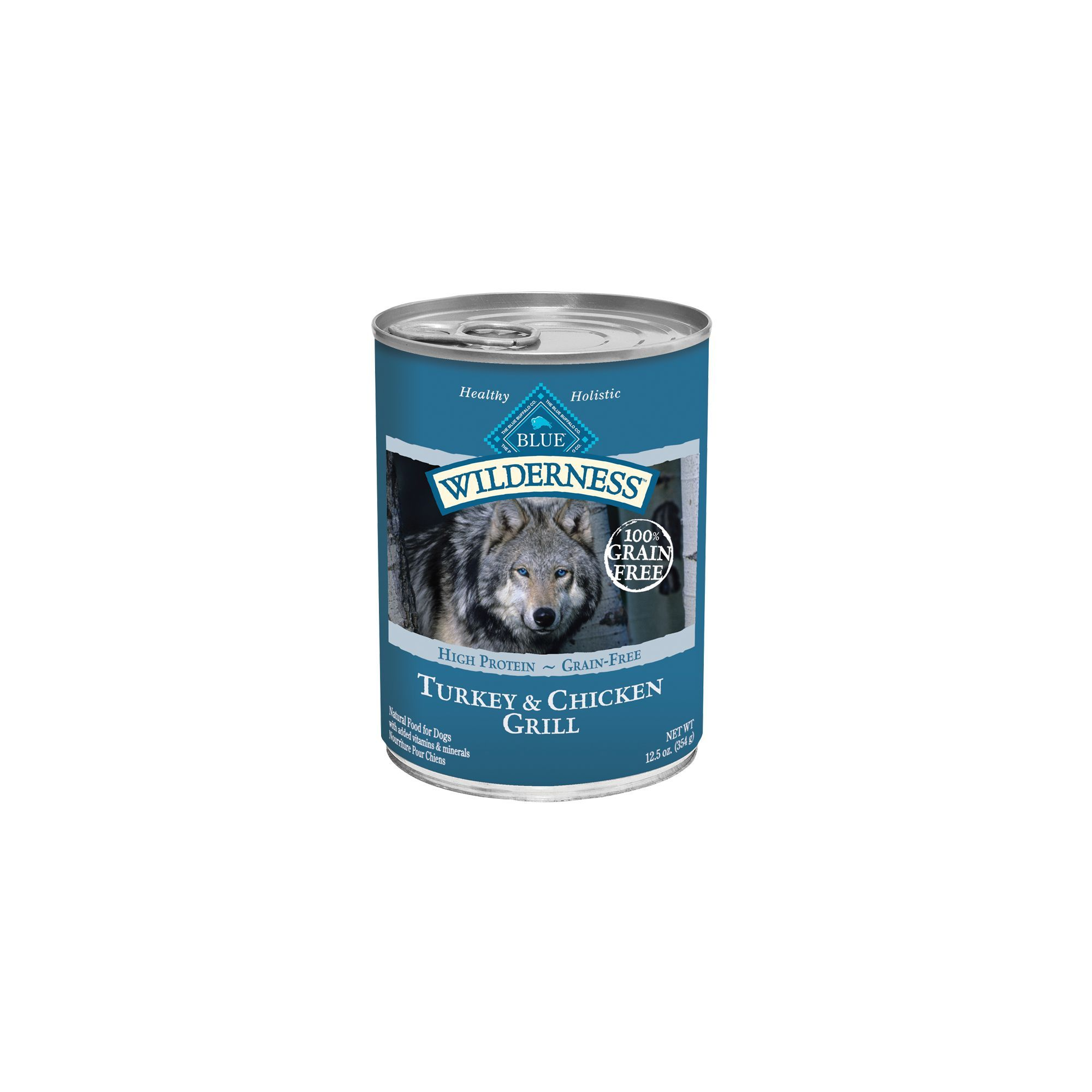 Blue Buffalo Wilderness Adult Dog Food Grain Free Natural Size