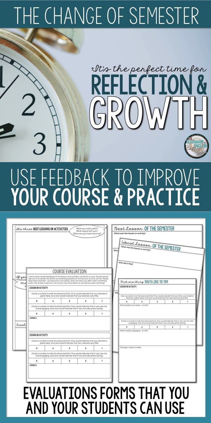 A Perfect Time for Reflection & Growth Secondary
