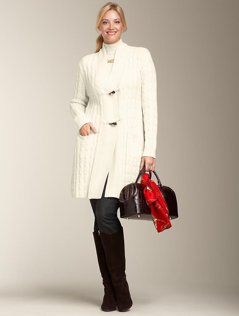 Winter White Cardigan | Fashions I Like | Pinterest | White ...