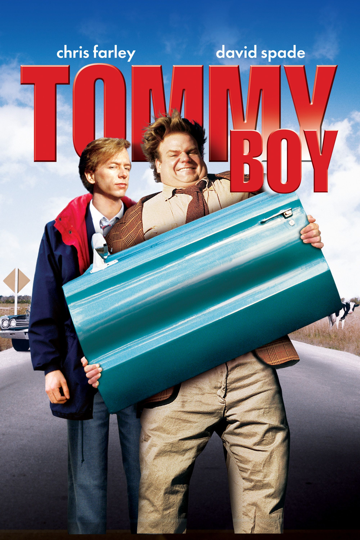 Tommy Boy Movie Poster Chris Farley, David Spade, Bo