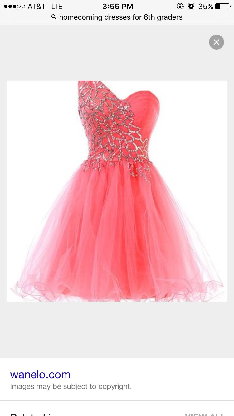 Cute dresses can be found on Google | Homecoming Dresses For 6th ...