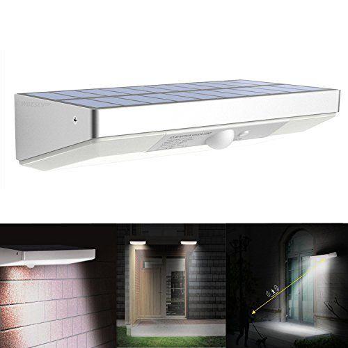 hitec led solar lights outdoor 760 lumen 48 led motion sensor light waterproof solar wall lamp with aluminum alloy outdoor security light for garden yard