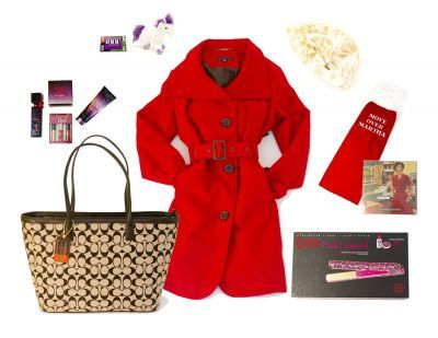 Win this amazingly cute red peacoat, a Coach Bag and more! http://www.mtparent.com/home/february-2014-mamas-got-a-new-bag.html