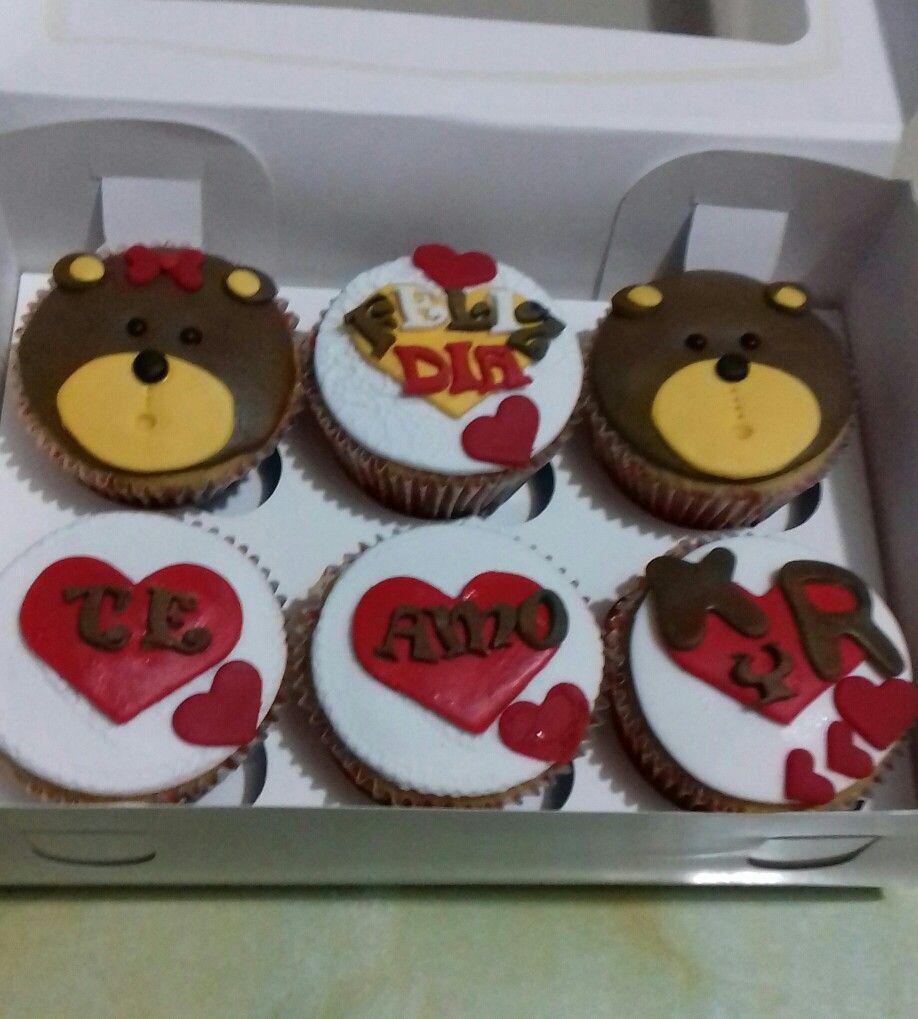 Cupcakes ositos cariñosos. Maricarmen's cakes online Store. 991526566