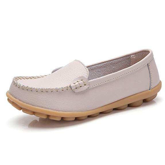 Mesdames Womens New Casual Flat Slip On Comfort WALKING SUMMER escarpins shoes size