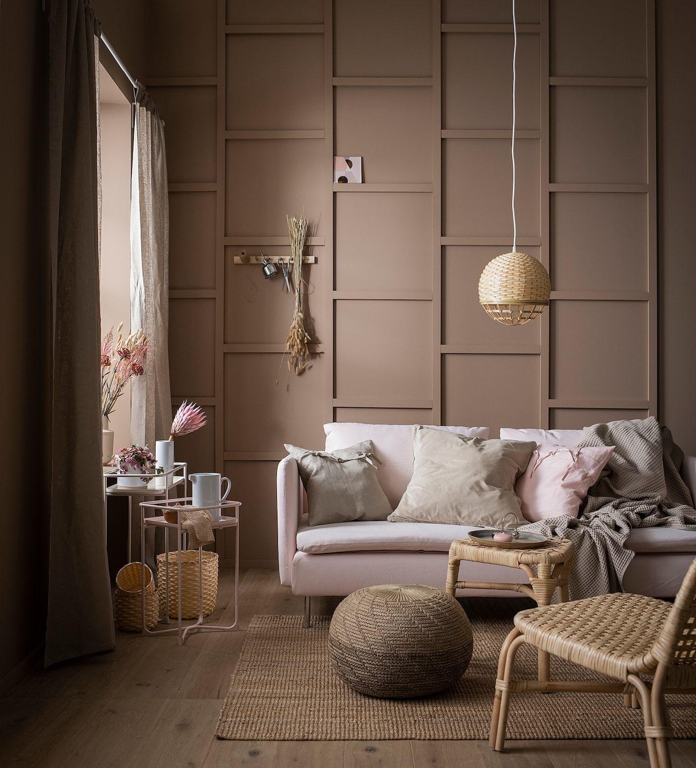 Kryddpeppar Floreira Interior Exterior Bege Ikea Plant Stand Indoor Bamboo In Pots Living Room Plants