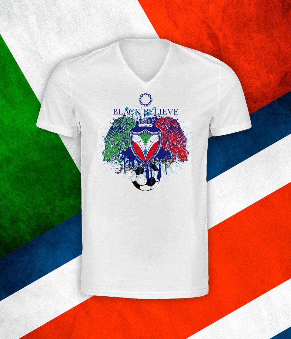 #SupportItaly Italia vs Costa Rica Black Believe limited edition tee