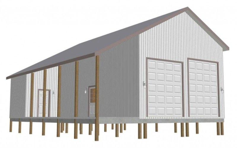 9 Fabulous Pole Barn Garage Plans Garage Ideas Pinterest Pole
