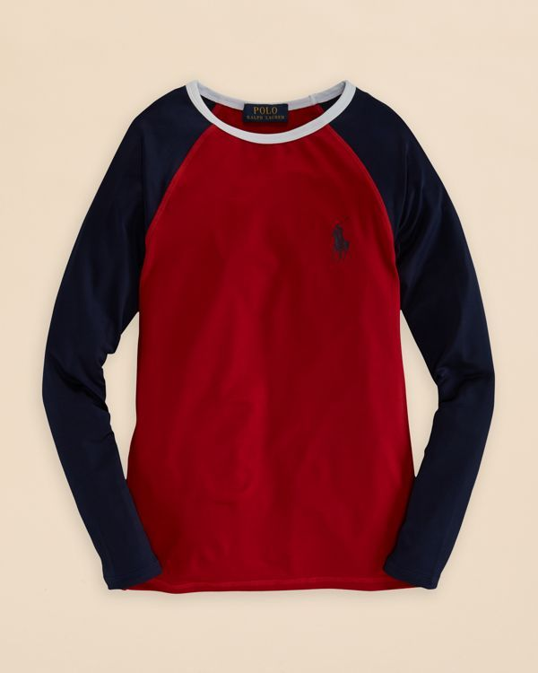 a4611180d25 Ralph Lauren Childrenswear Boys  Color Block Rash Guard - Sizes S-xl ...