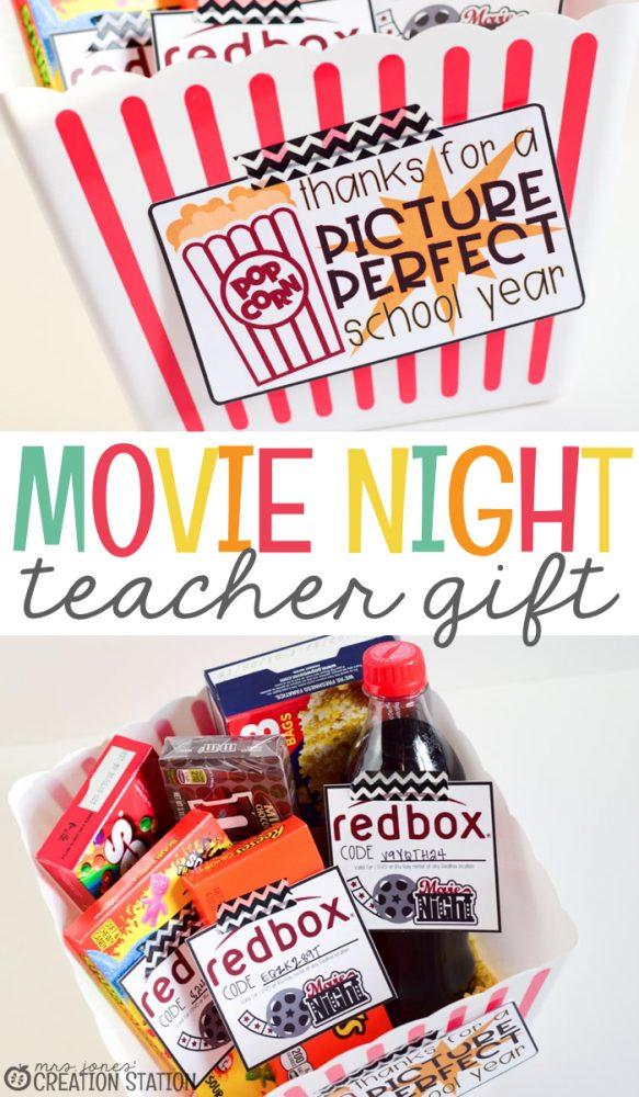 Movie Night Educator Gift | Mrs. Jones' Creation Station