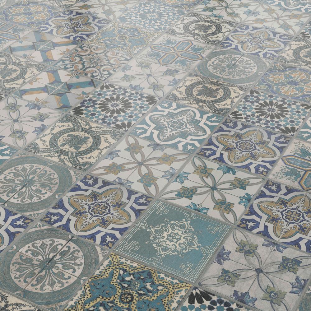 Aurora 8mm Ornate Perennial Tile Laminate Flooring 47552 Laminate Flooring Laminate Tile Flooring Laminate Flooring Colors