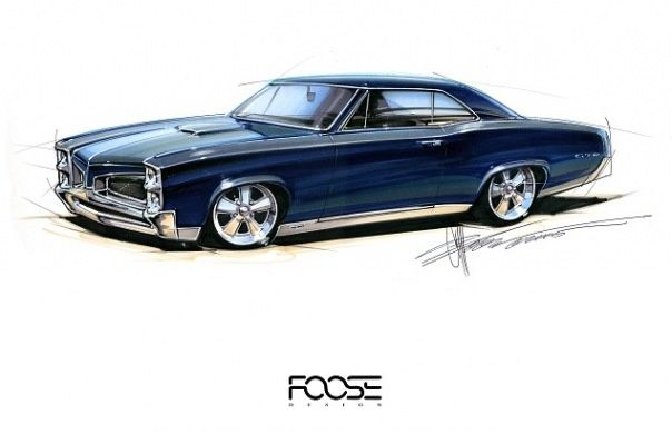 Chip Foose Design Sketch Chip Foose Foose Custom Cars