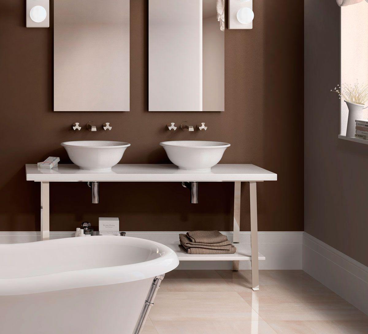 Flaminia Waschbecken Waschbecken Italienische Keramik Badezimmer